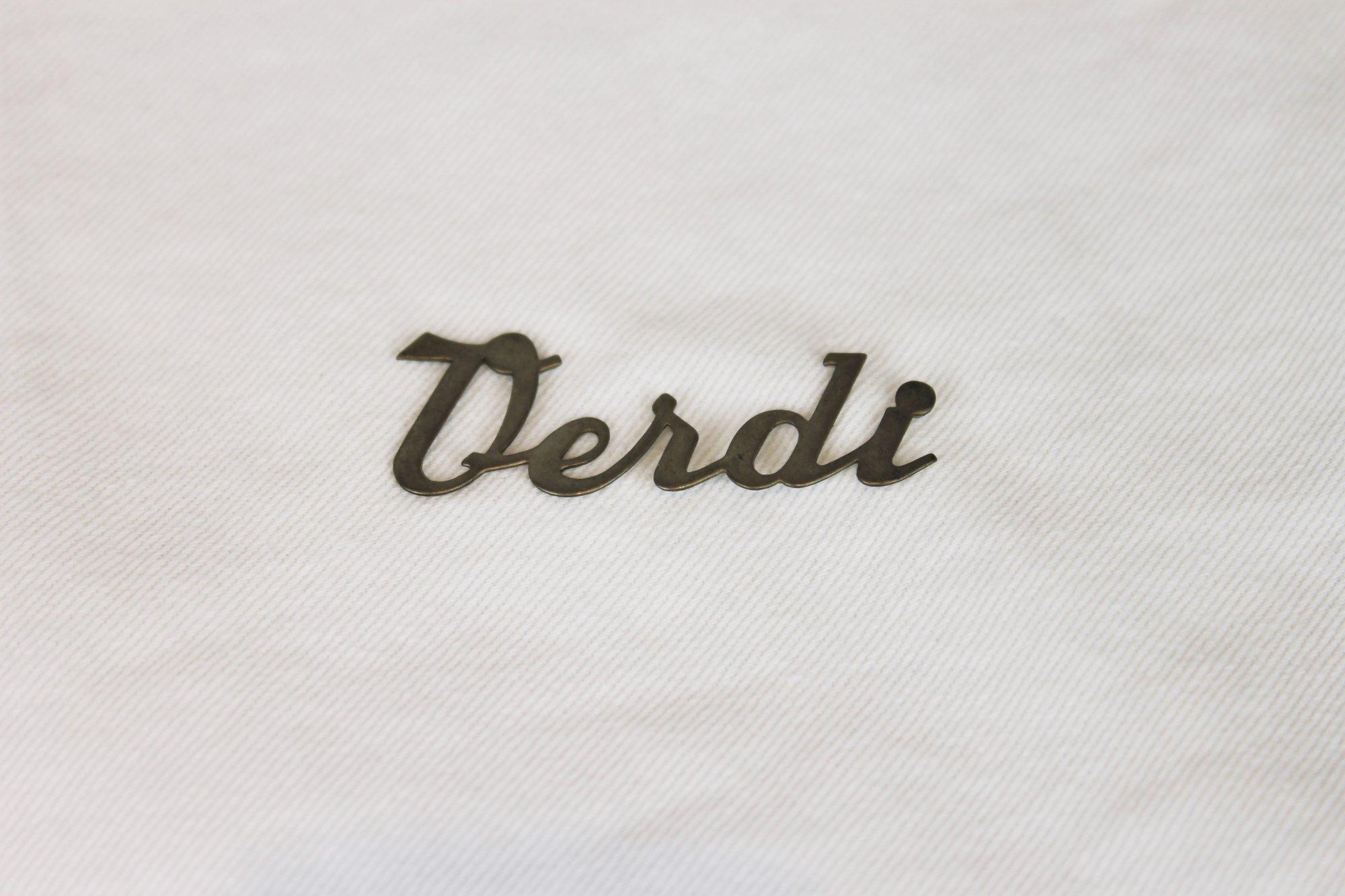 Hohner Verdi Accordion Part - Verdi Emblem Logo