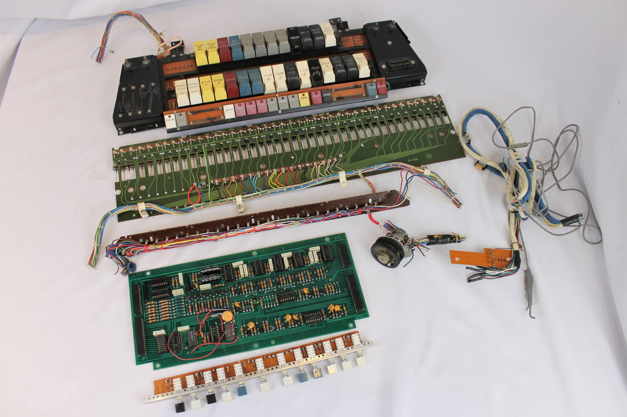 Farfisa Accordion Parts - Electronic Components