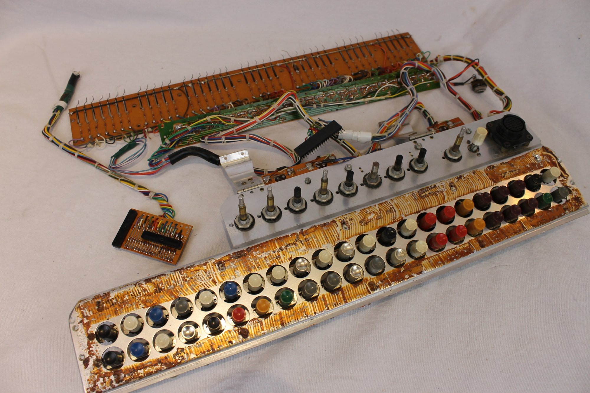 Cordovox Accordion Parts - Electronic Components and Dynamic Microphones
