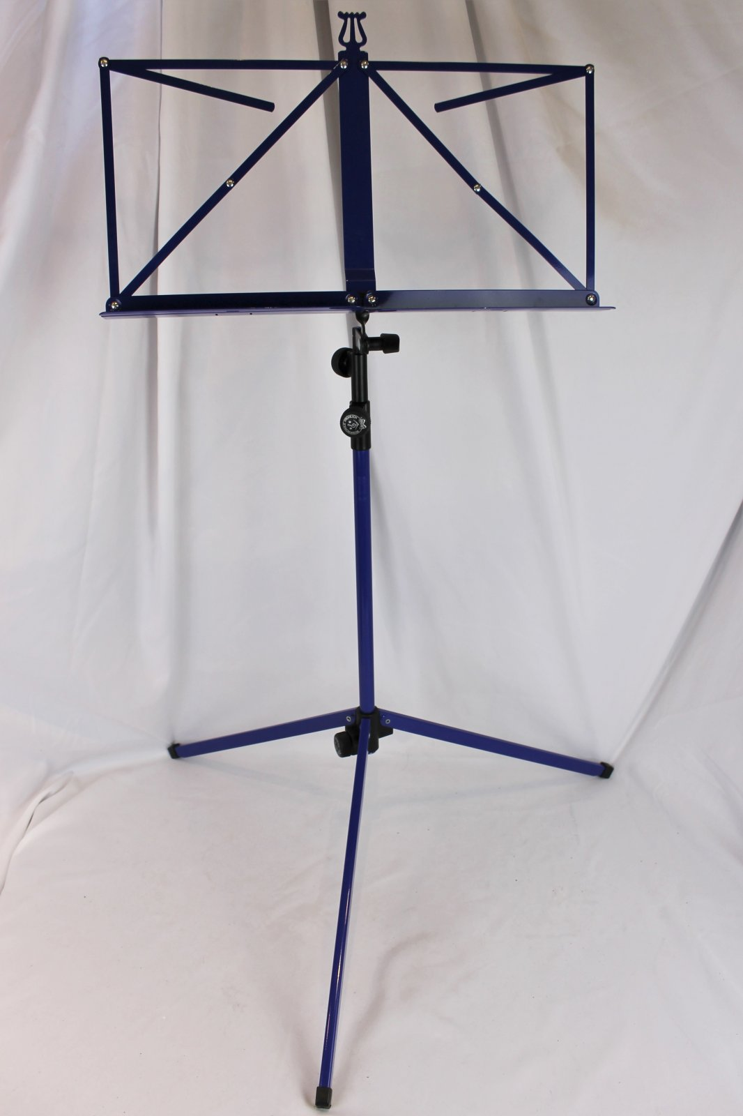 Blue Foldable Wire Music Stand