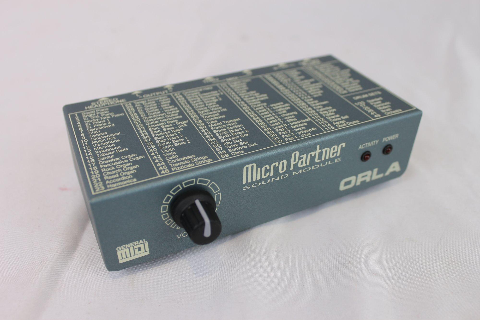 NEW Orla Micro Partner Midi Sound Module