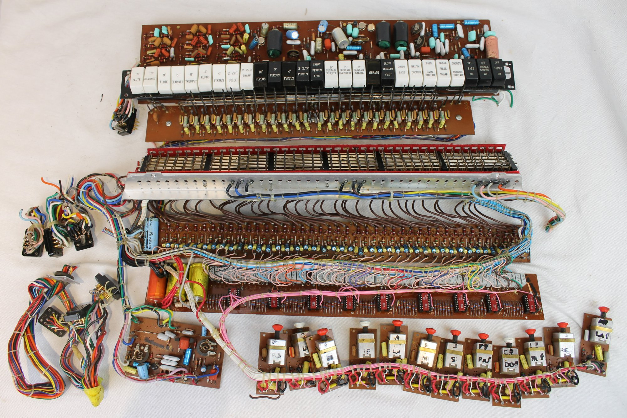 Transmaster Accordion Parts - Electronic Components