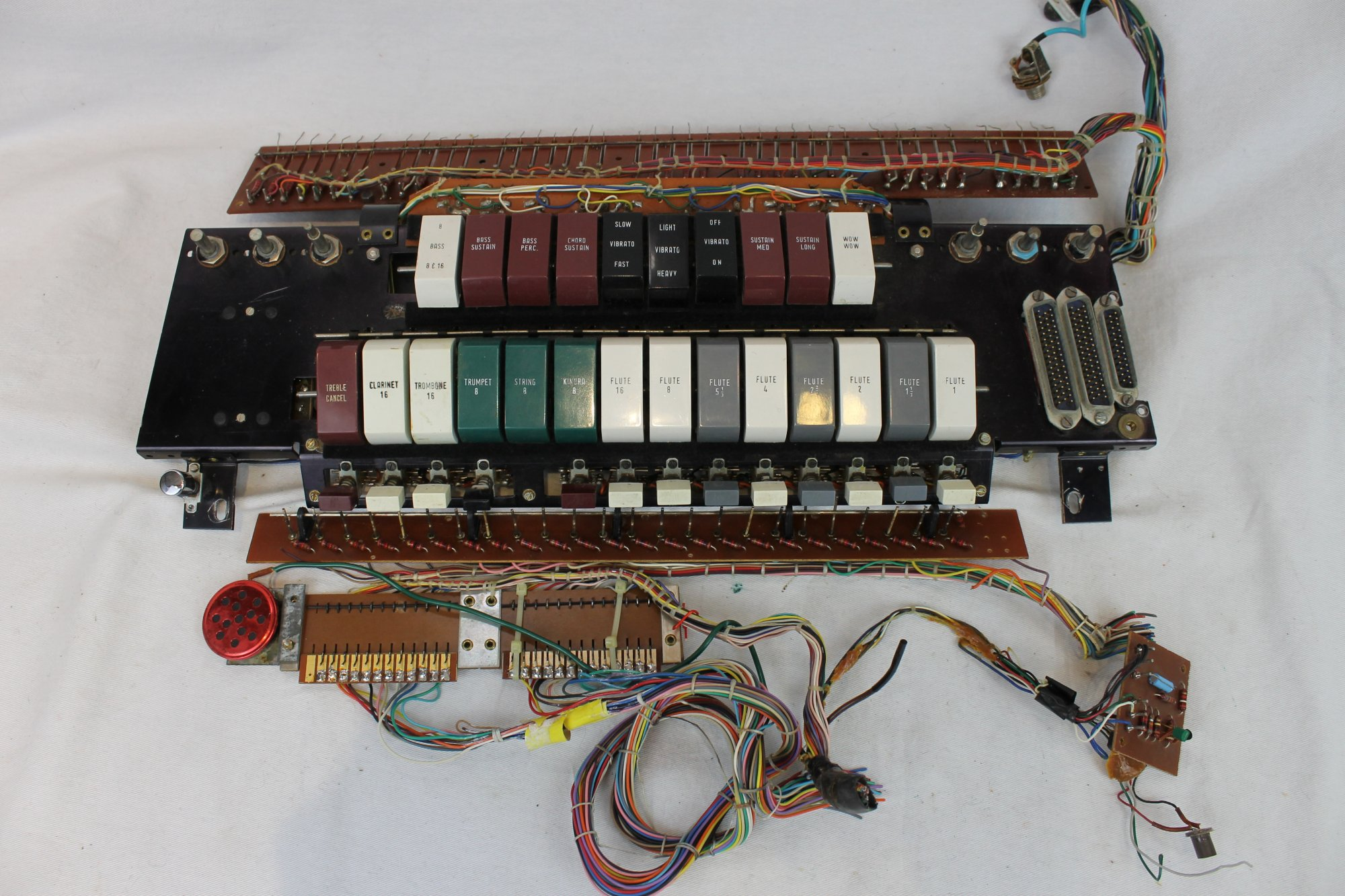 Cordovox Accordion Parts - Electronic Components