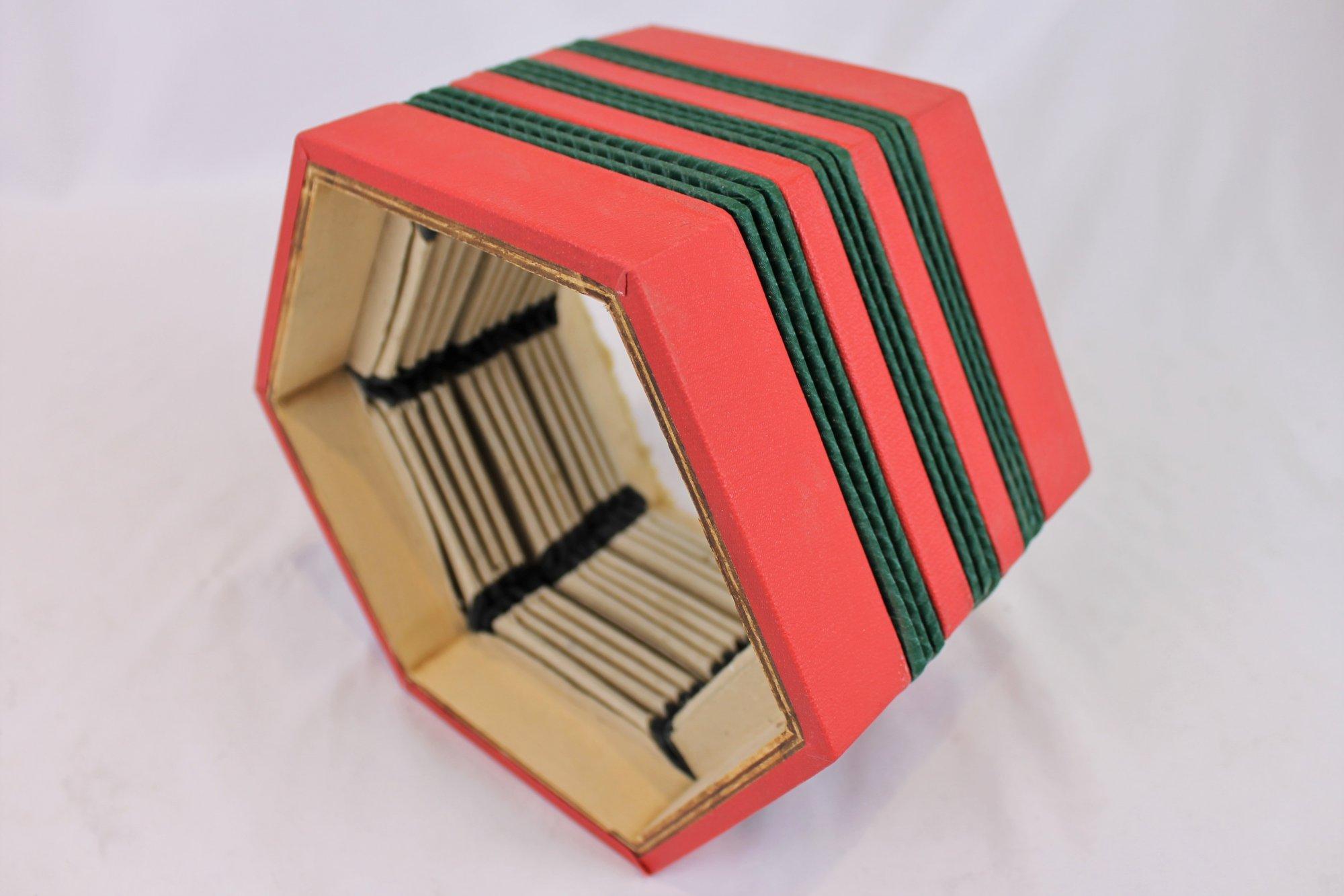 Concertina Part - Bellows 8 x 6.9 x 4.25 13 Folds