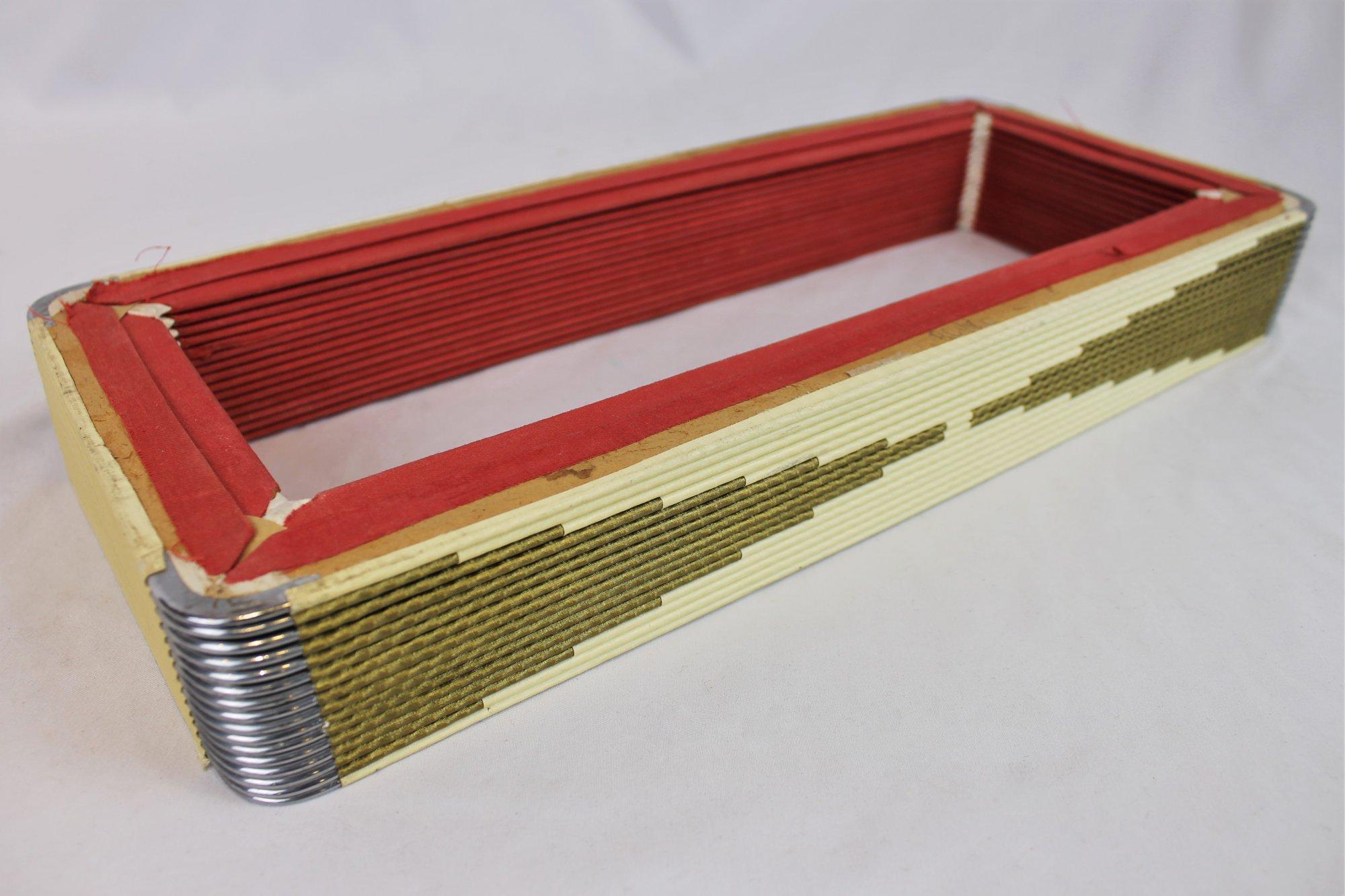 Accordion Part - Bellows 16 x 6.75 x 2 16 Folds
