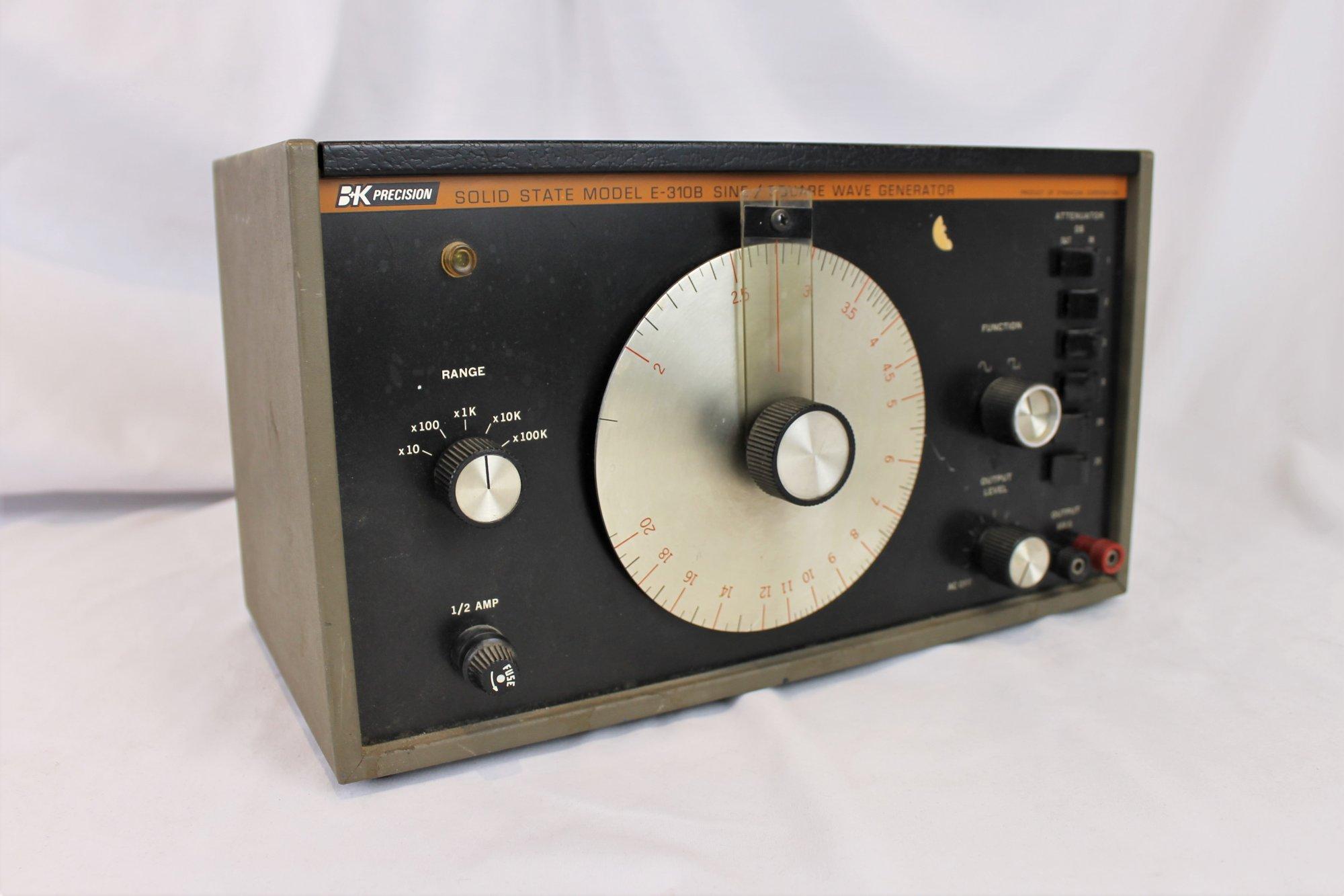 B&K Precision Solid State Model E-310B Sine/Square Wave Generator
