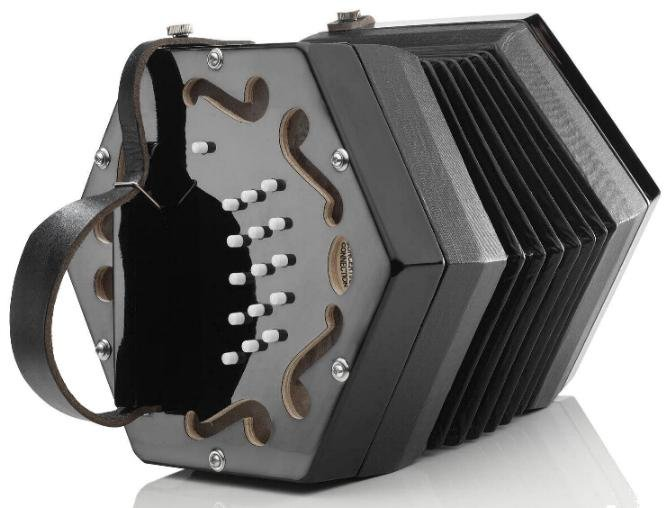 NEW Black Concertina Connection Rochelle Anglo CG M 30