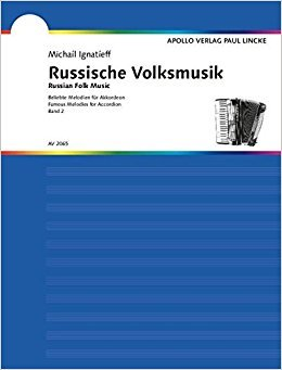 Russische Volksmusik Volume 2 Accordion