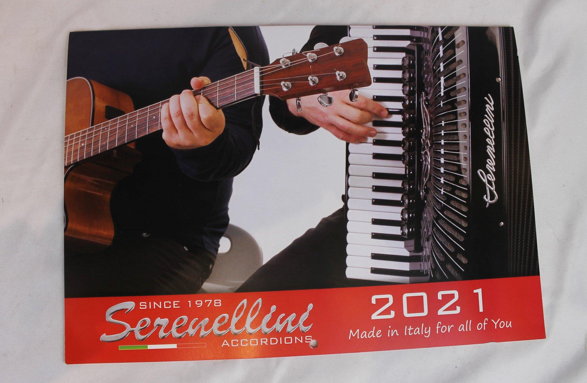 Serenellini Accordions Calendar 2021