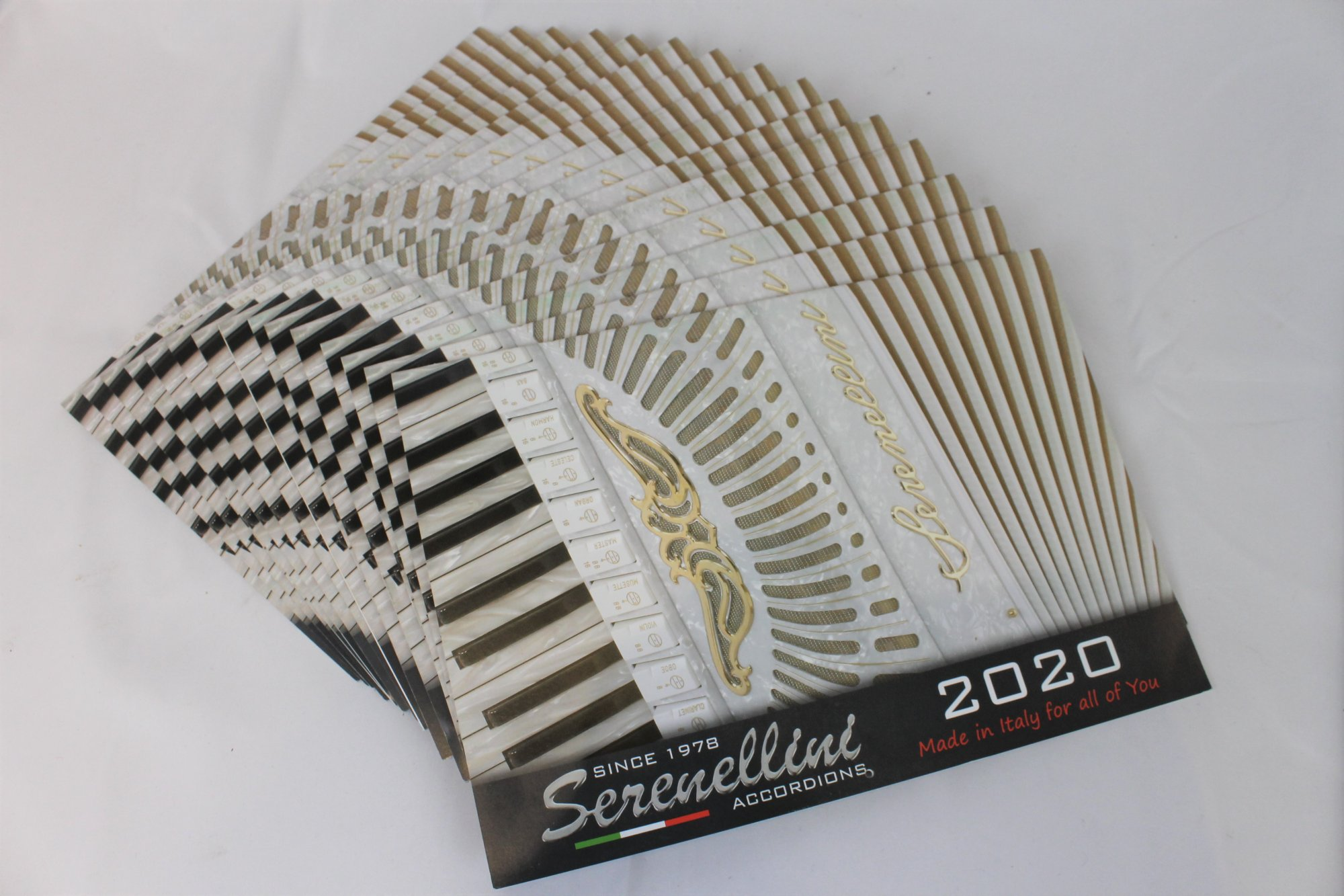 Serenellini Accordions Calendar 2020