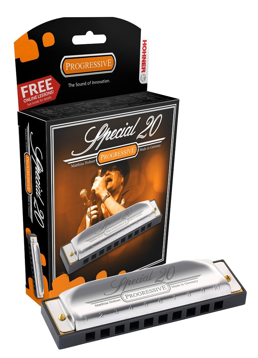 New Hohner Special 20 Harmonica