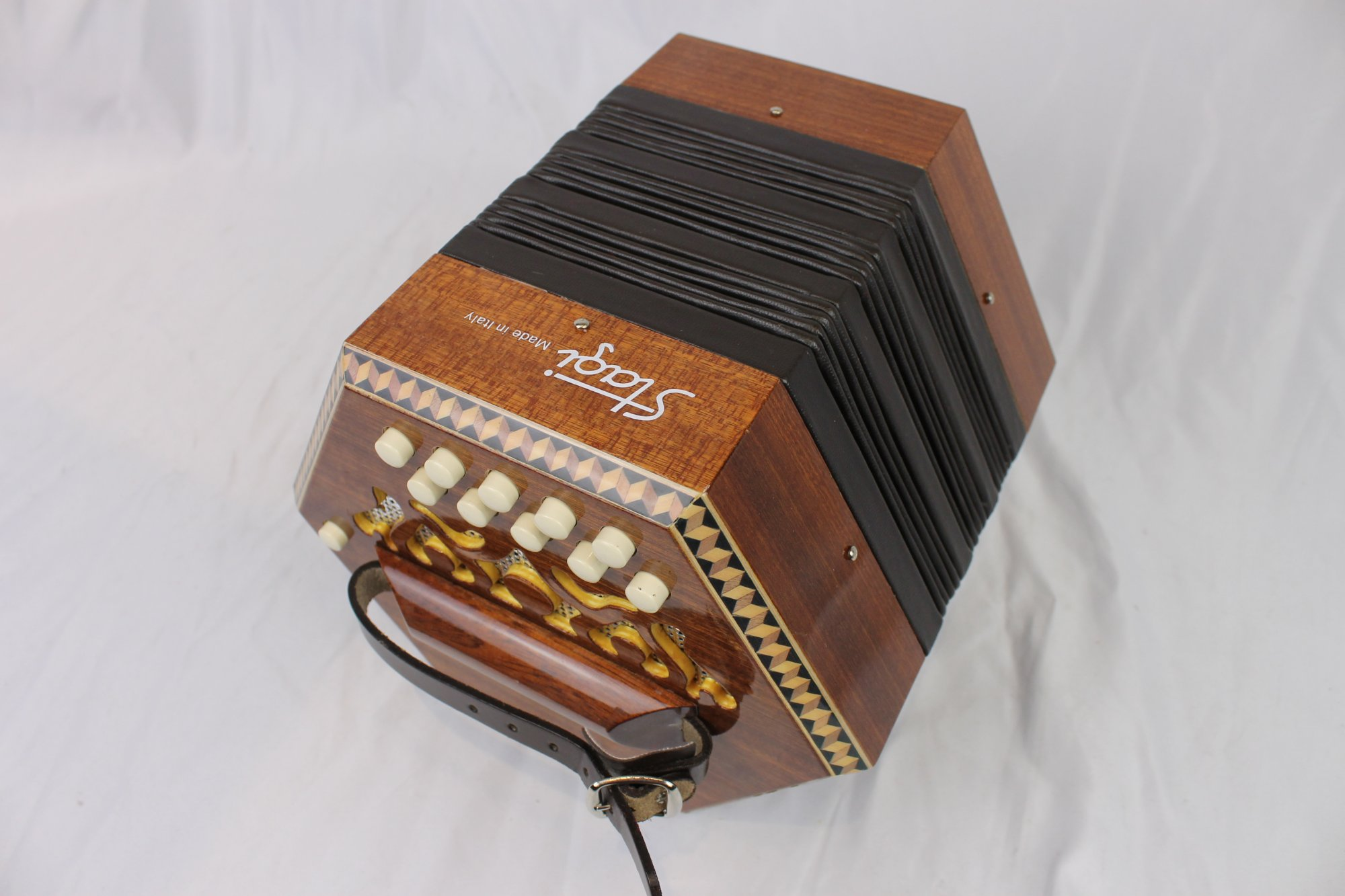 NEW Stagi C-2 Anglo Concertina AD LM 20