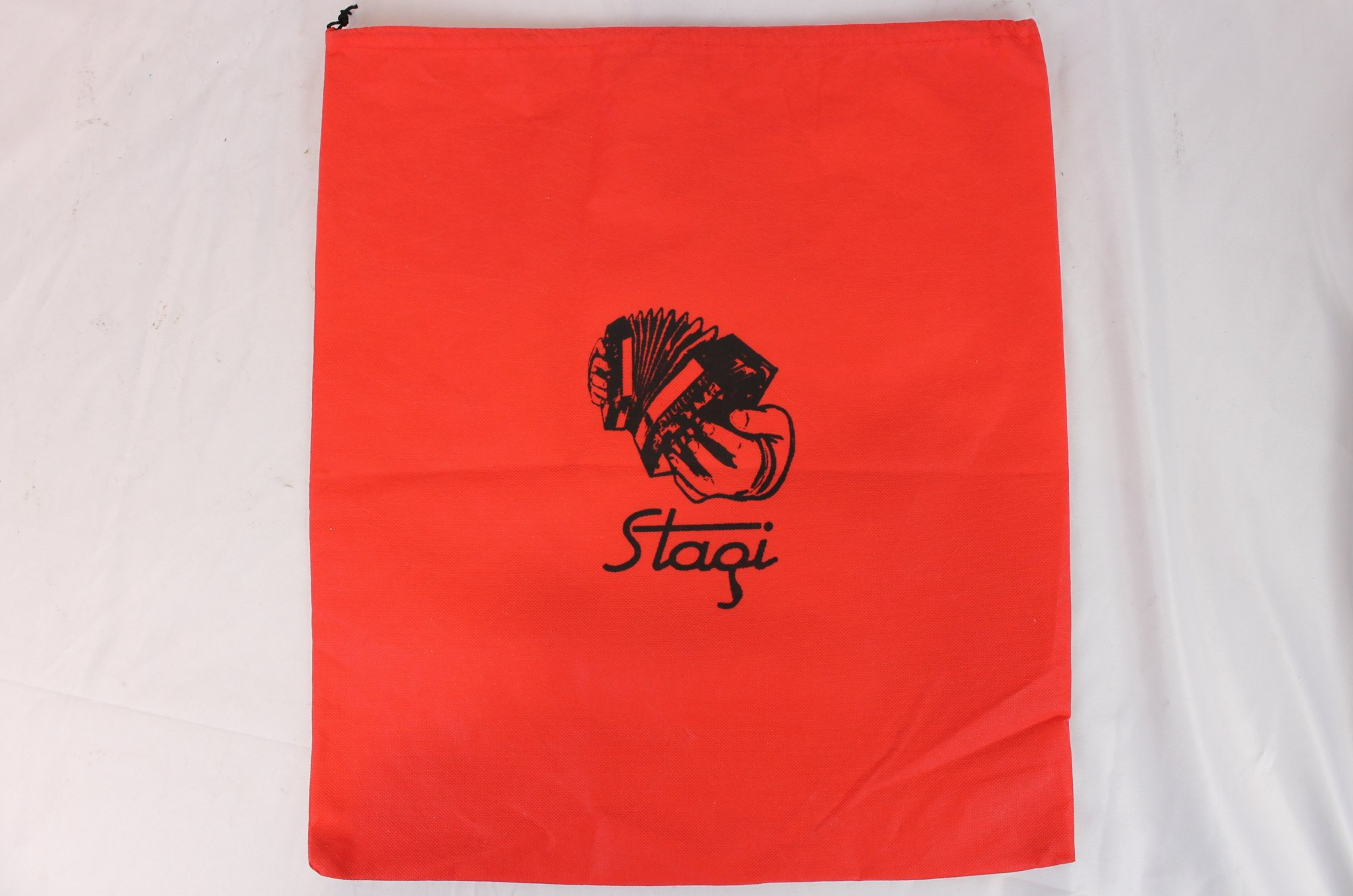 Red Stagi Concertina Bag
