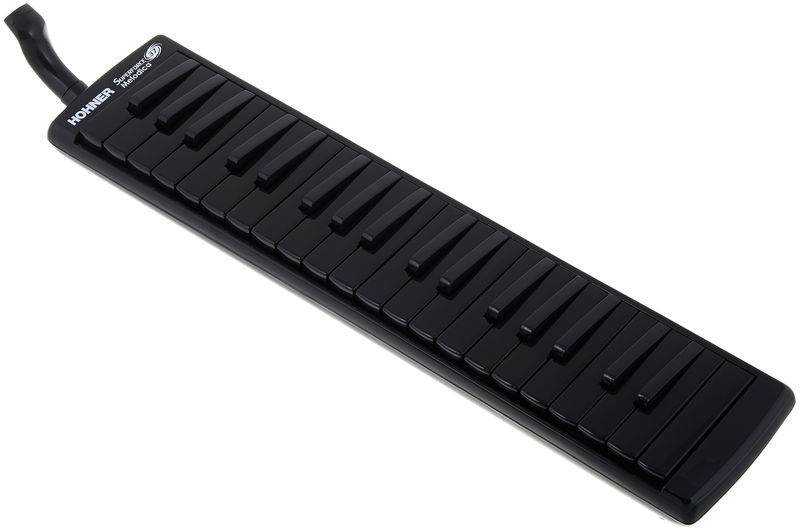 New Black Hohner Superforce 37 Key Melodica