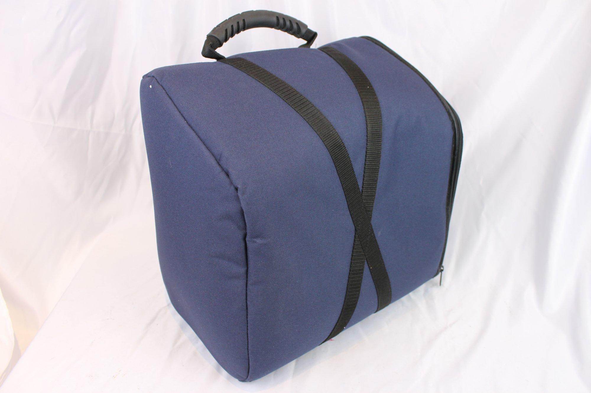 Blue Gig Bag for Accordion 13 x 14 x 8