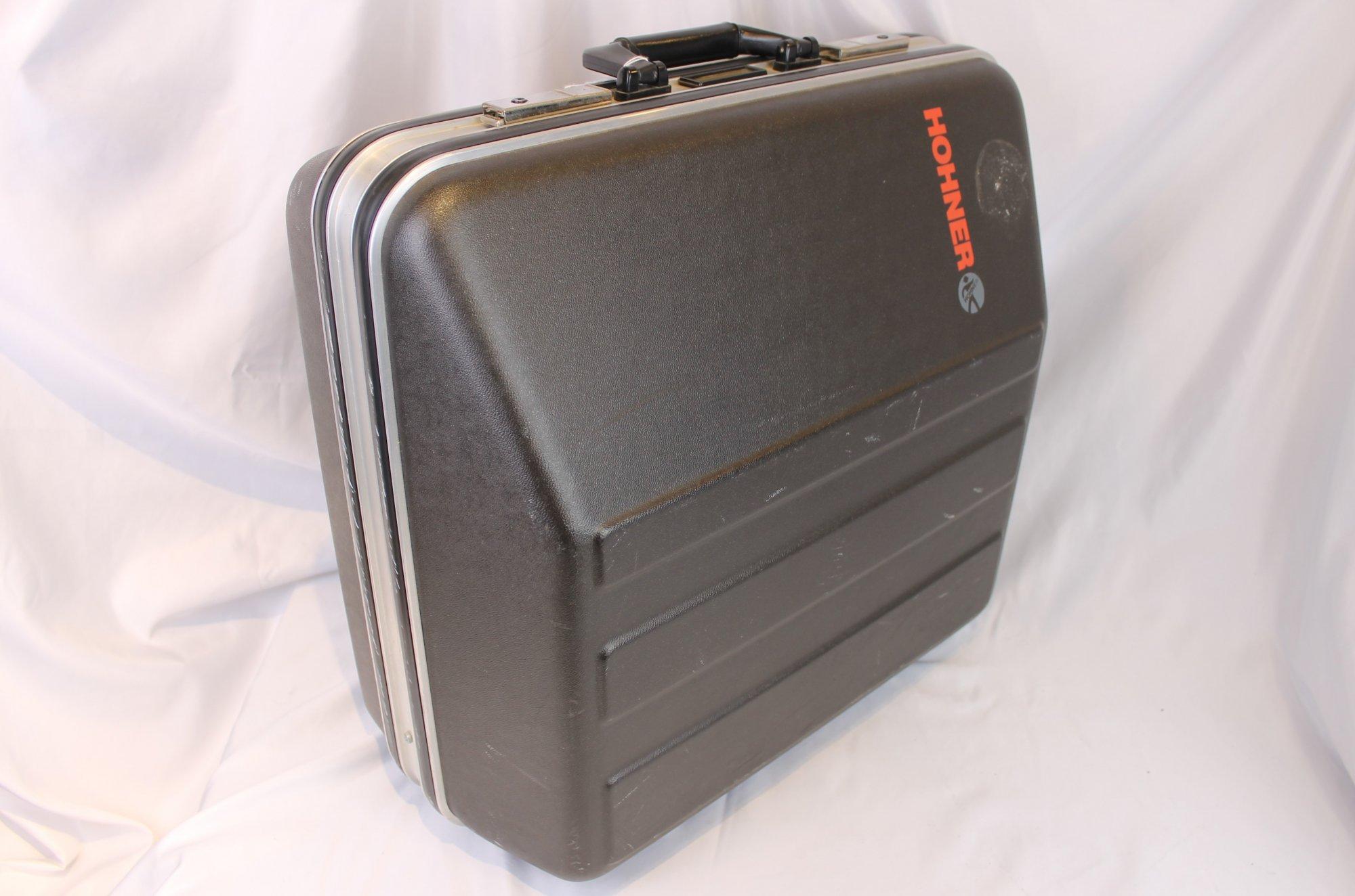 Black Hohner Hard Case for Accordion 19 x 16 x 8