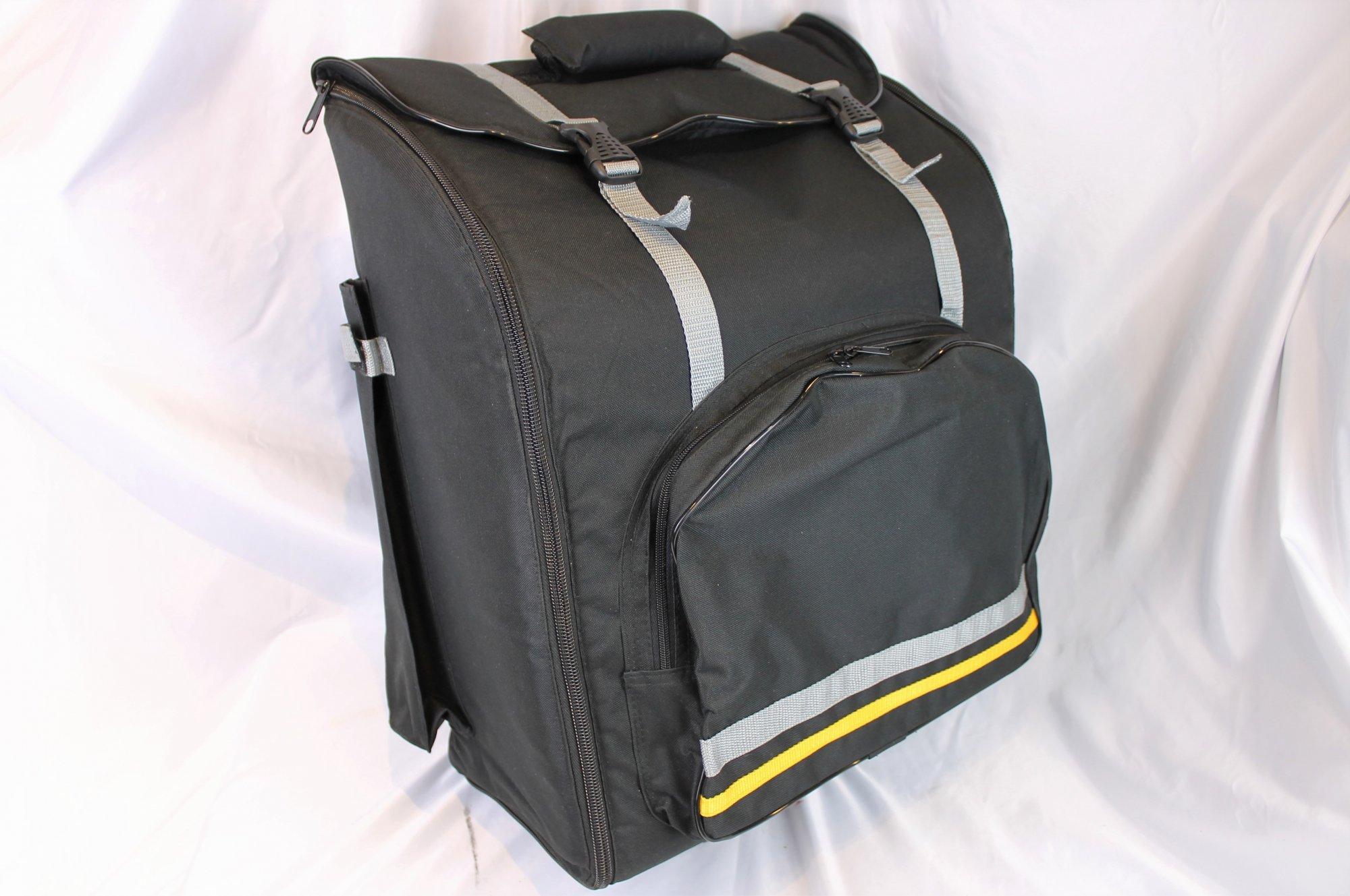 Black Trolley Gig Bag for Accordion 17 x 8.5 x 20.5