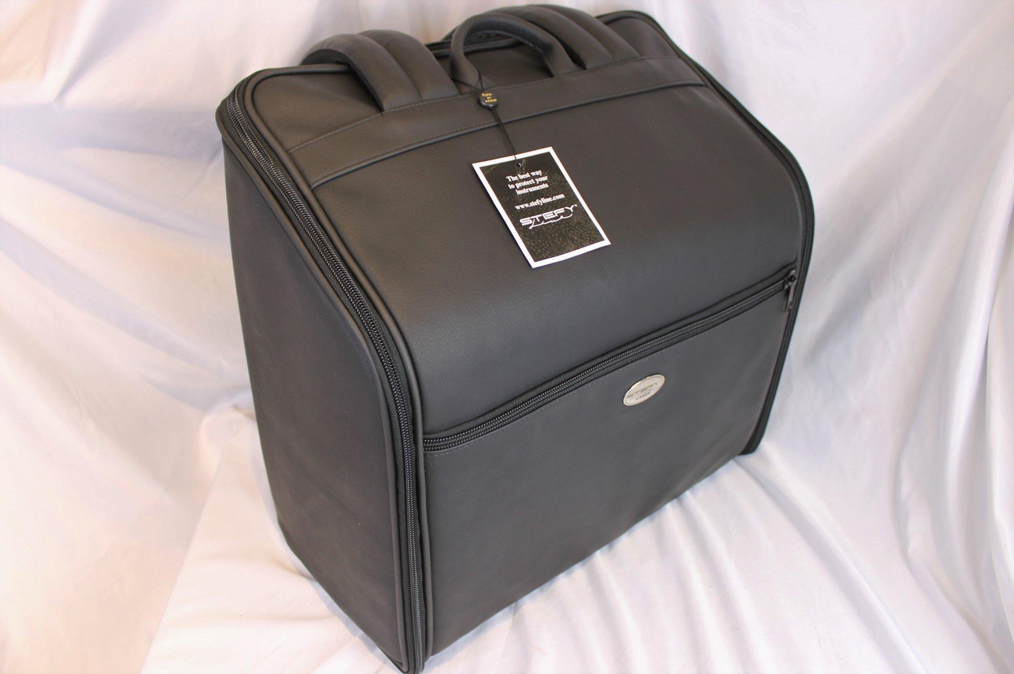 NEW Black Stefy Gala Series Gig Bag for Accordion 20 x 19 x 9.5