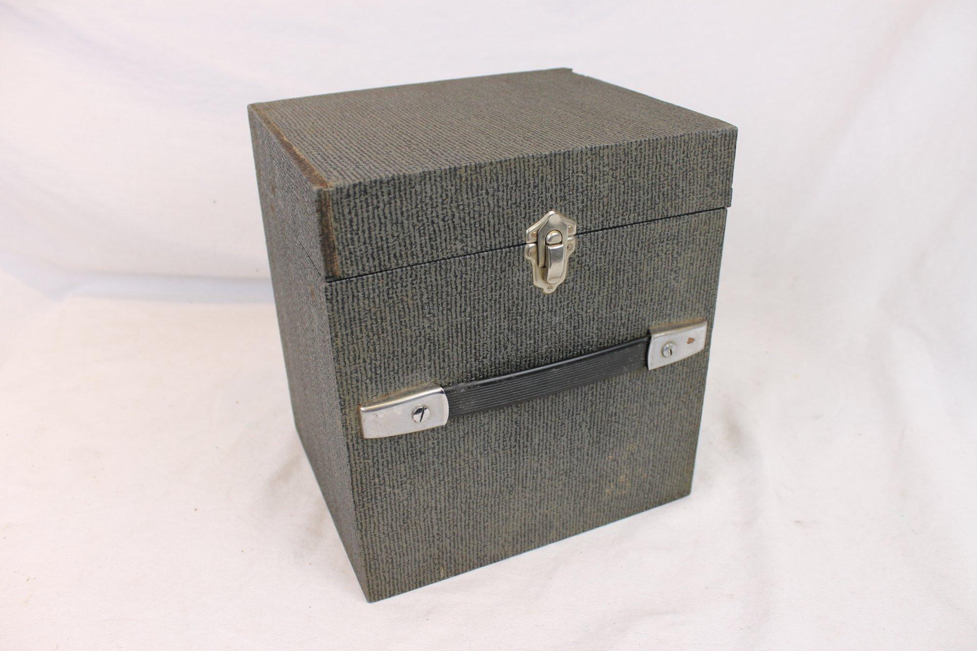Gray Concertina Hard Case 8.75 x 7.5 x 6.5 (22.5cm x 19cm x 16.5cm)