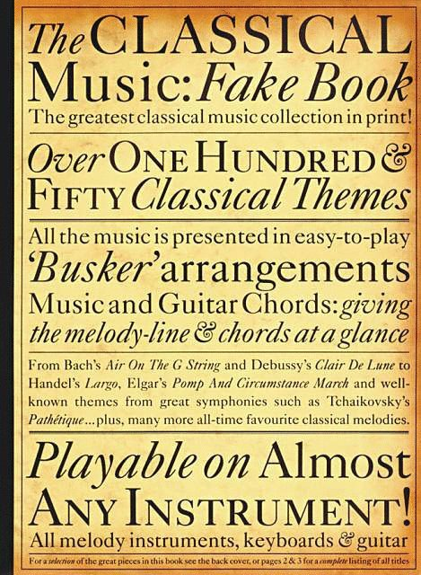 The Classical Music: Fake Book