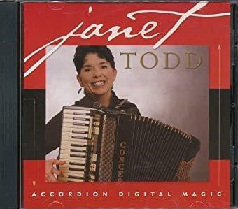 Janet Todd: Accordion Digital Magic (CD)