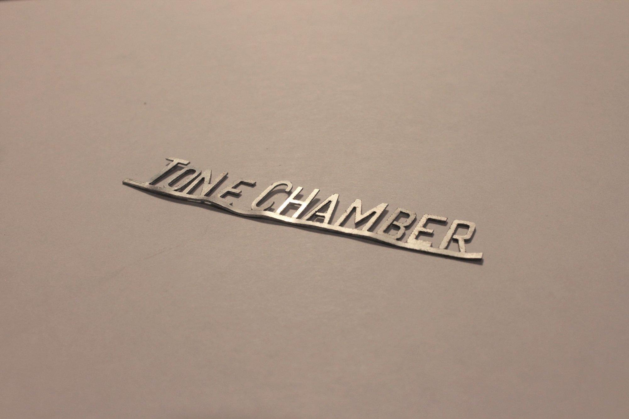 Tone Chamber Horizontal Badge Accordion Part