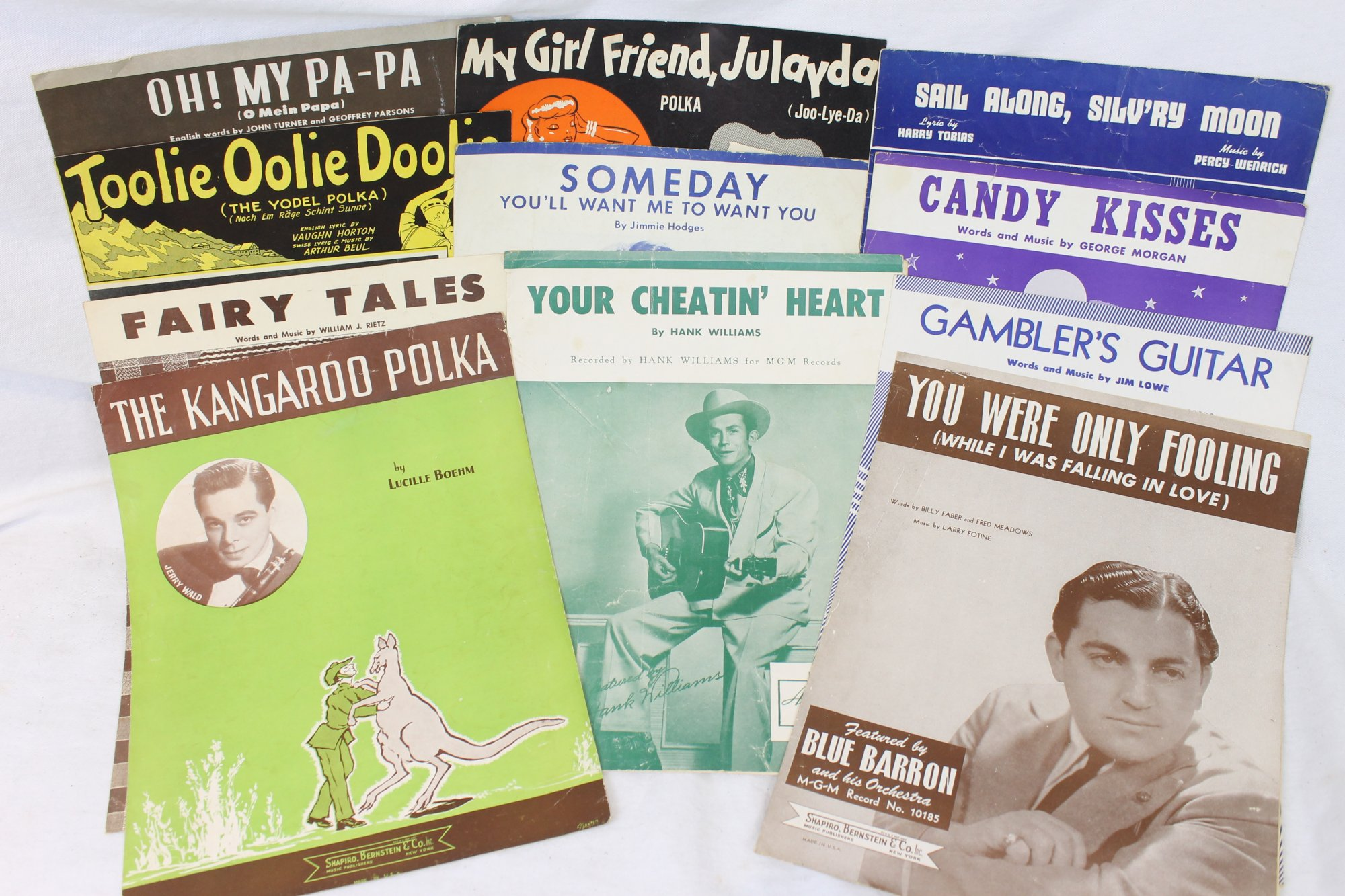 Lot of 25 Used Piano Music Books and Sheets - American Songbook
