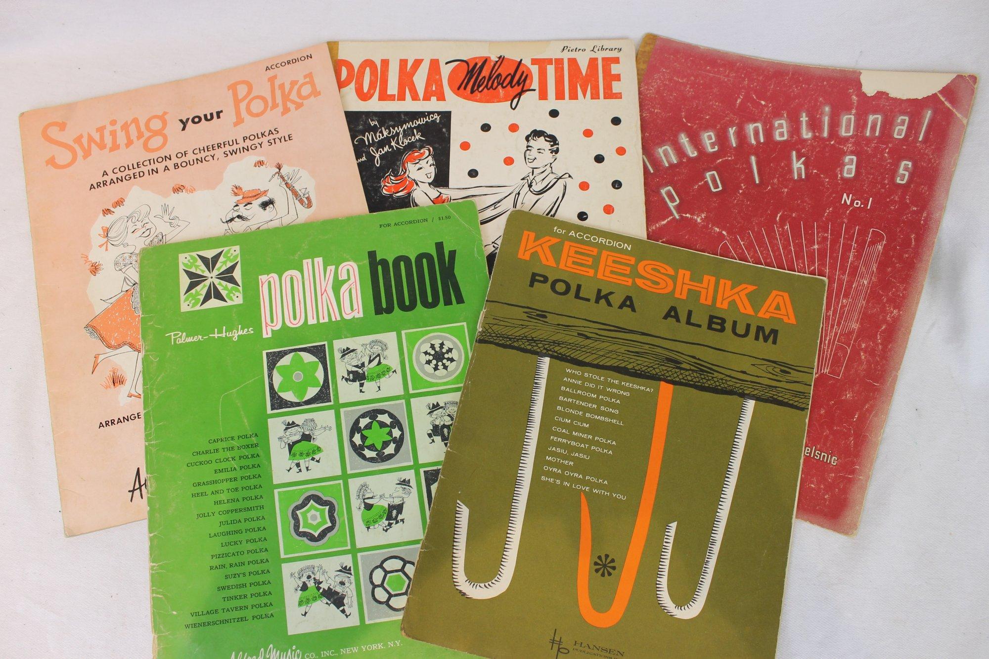 Lot of 5 Used Accordion Books - Polka Books
