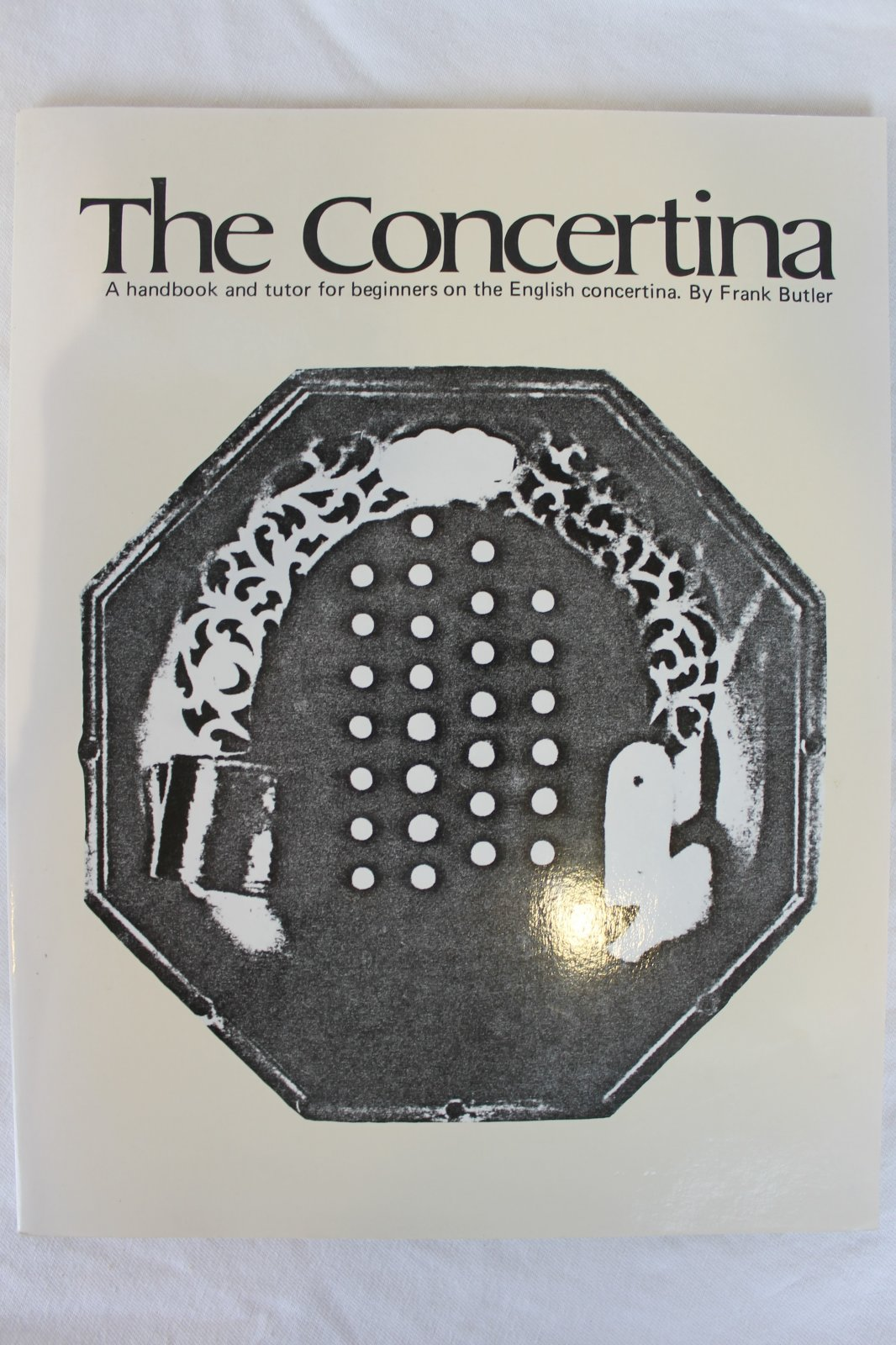 Used English Concertina Method Book - The Concertina by Frank Butler