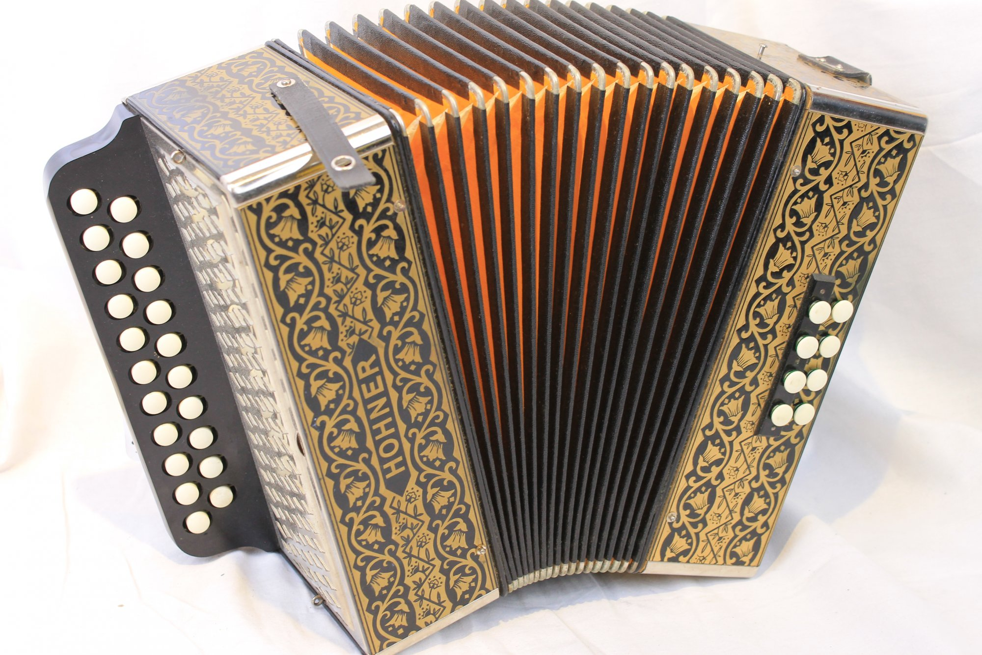2889 - Hohner Pokerwork HA-2815 Diatonic Button Accordion CF 21 8