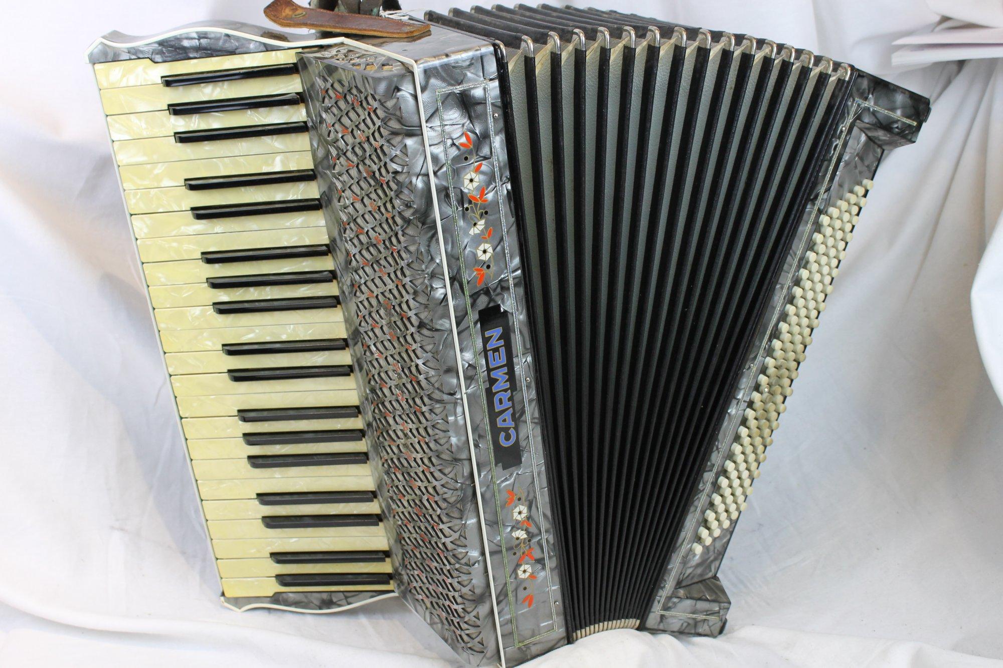 3086 - Slate Hohner Carmen Piano Accordion LMM 41 120
