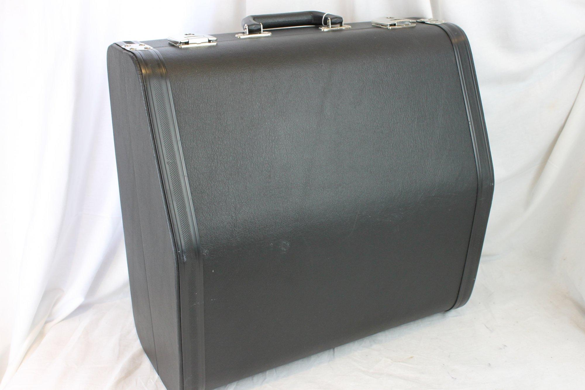 NEW Black Weltmeister Accordion Hard Case 16.5 x 16 x 9 (42cm x 40.5cm x 23cm)