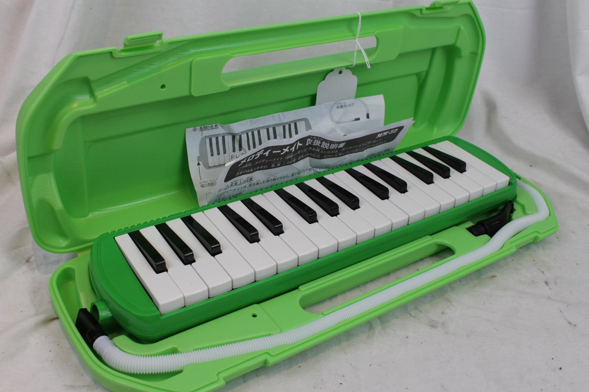 3112 - Green Suzuki MM32 Melodica