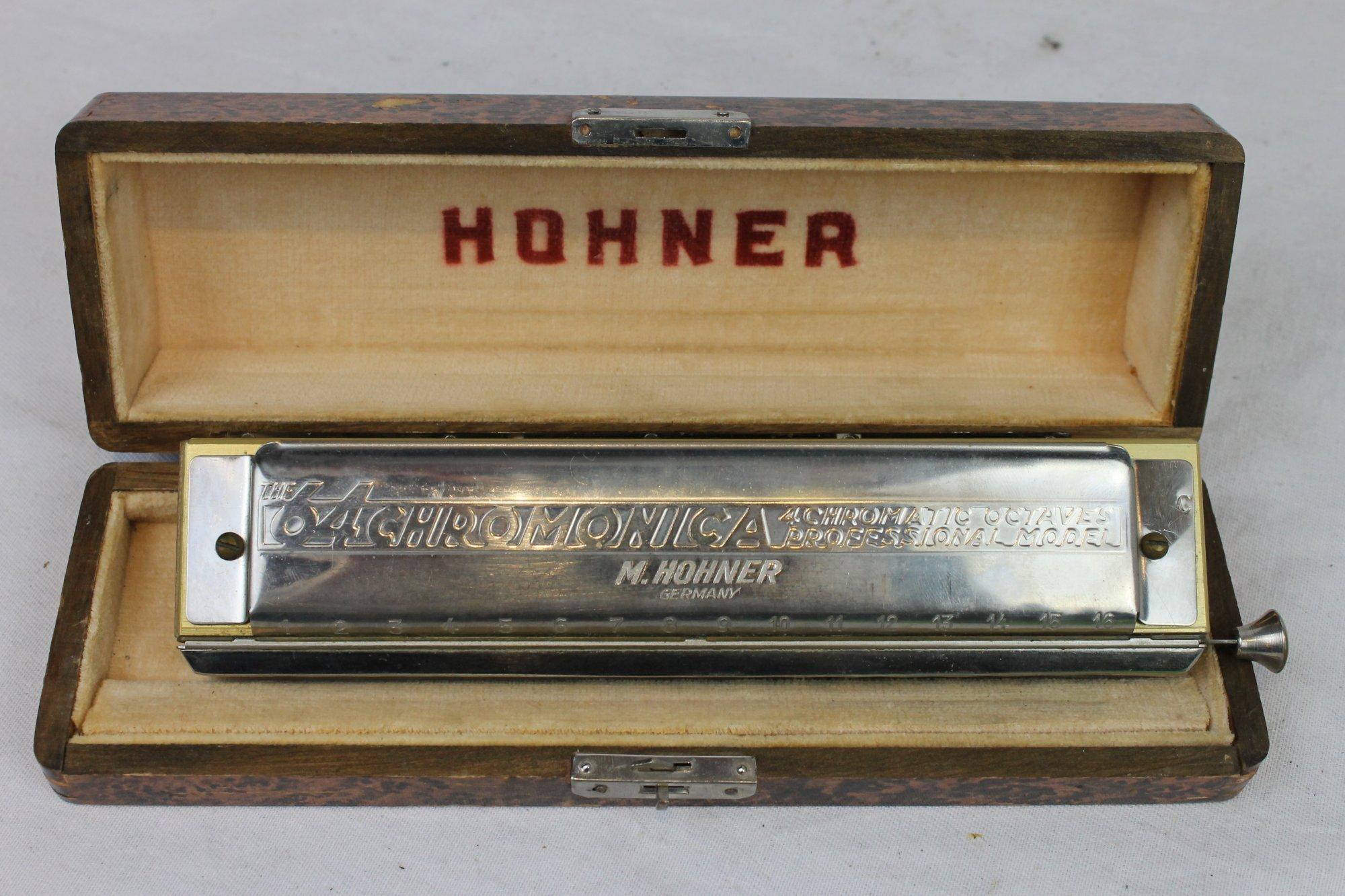 3209 - Hohner 64 Chromonica Chromatic Harmonica Super  Key of C