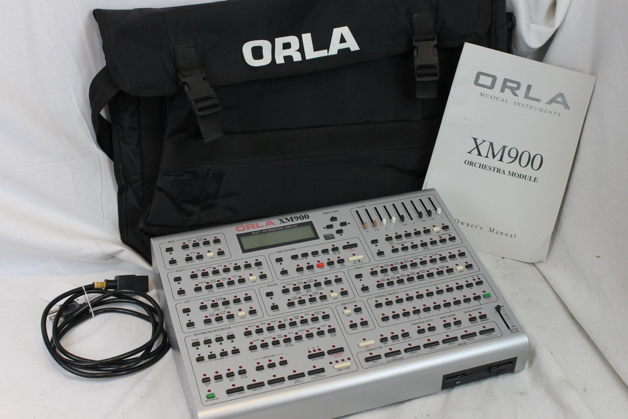 3389 - Orla XM900 Arranger and Midi Sound Module