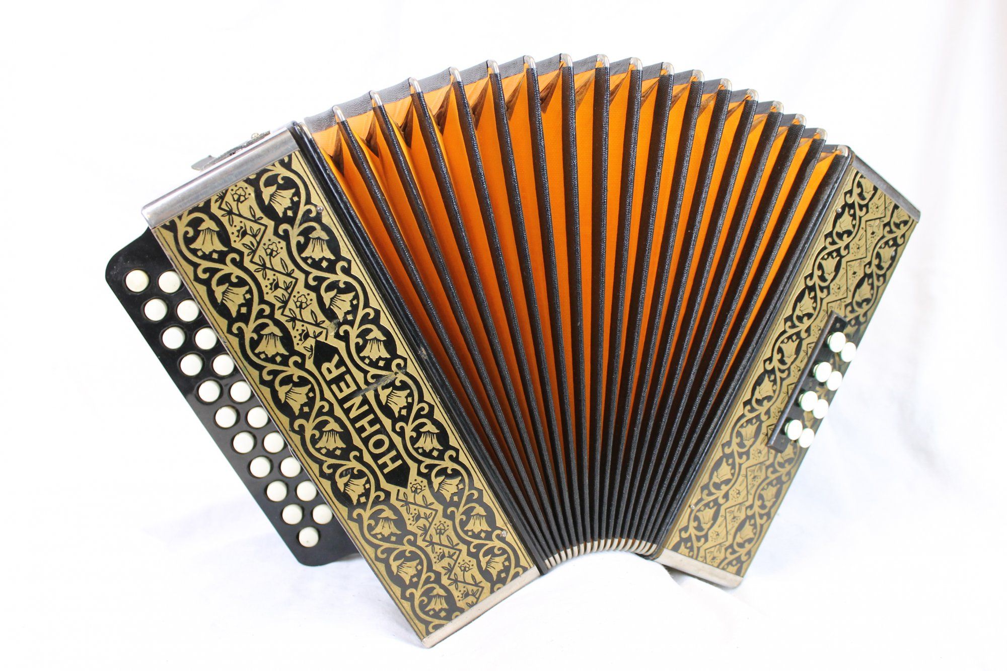 3821 - Hohner Pokerwork HA-2815 Diatonic Button Accordion BC 21 8