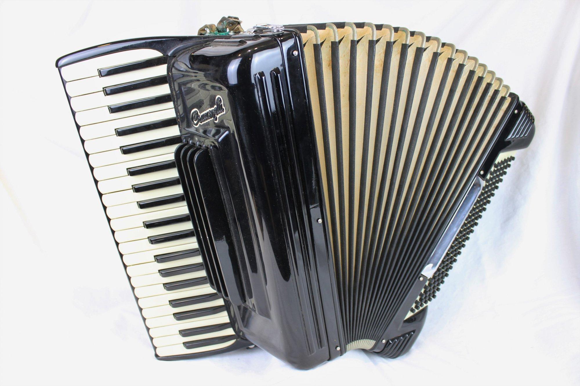 3948 - Black Crucianelli Piano Accordion LMH 41 120