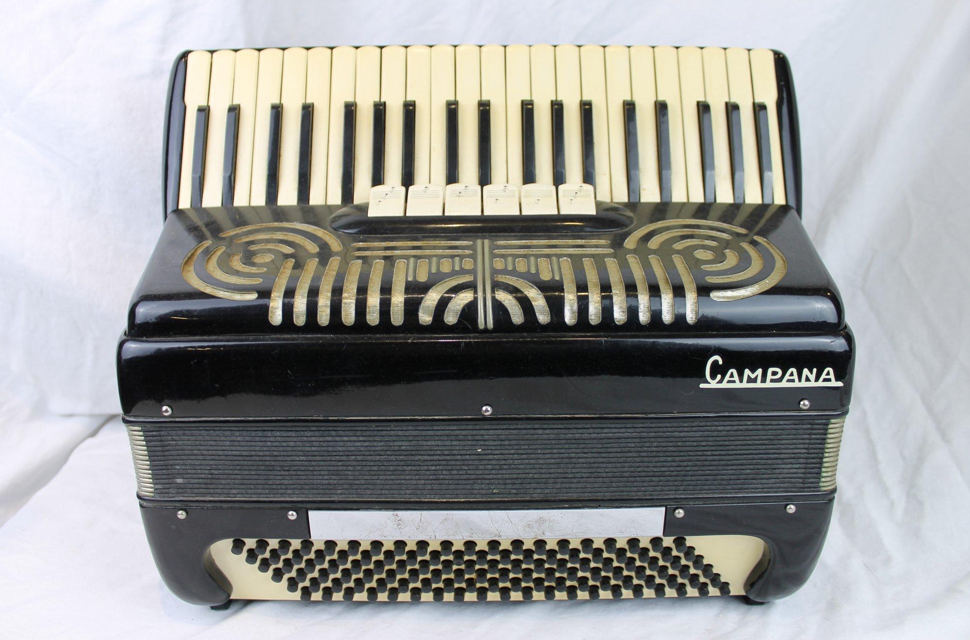 4578 - Black Campana Piano Accordion LMH 41 120