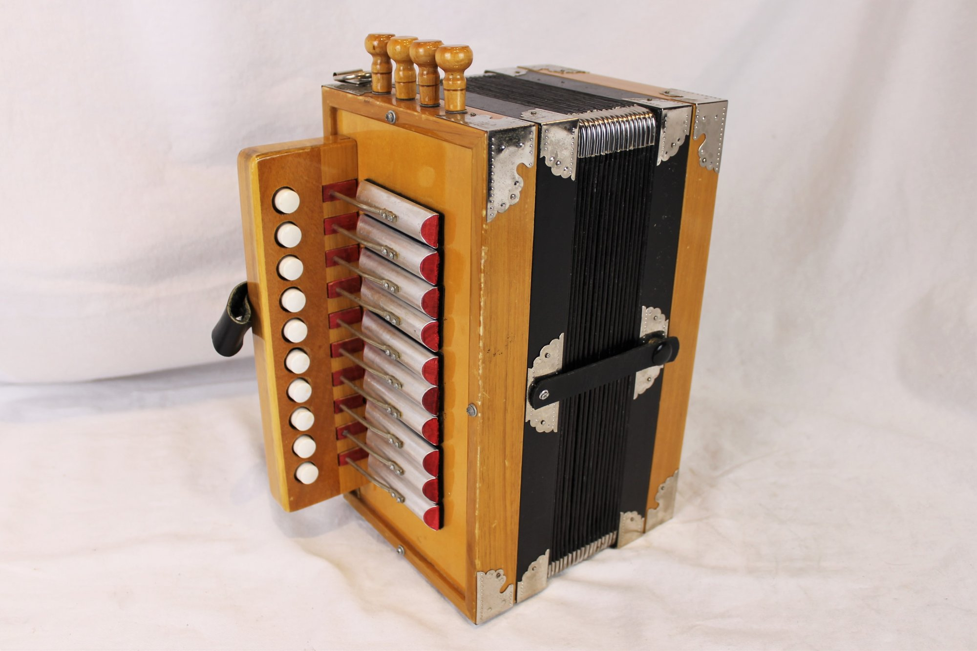 4714 - Alder Hohner Ariette Diatonic Button Accordion LMMH 10 2