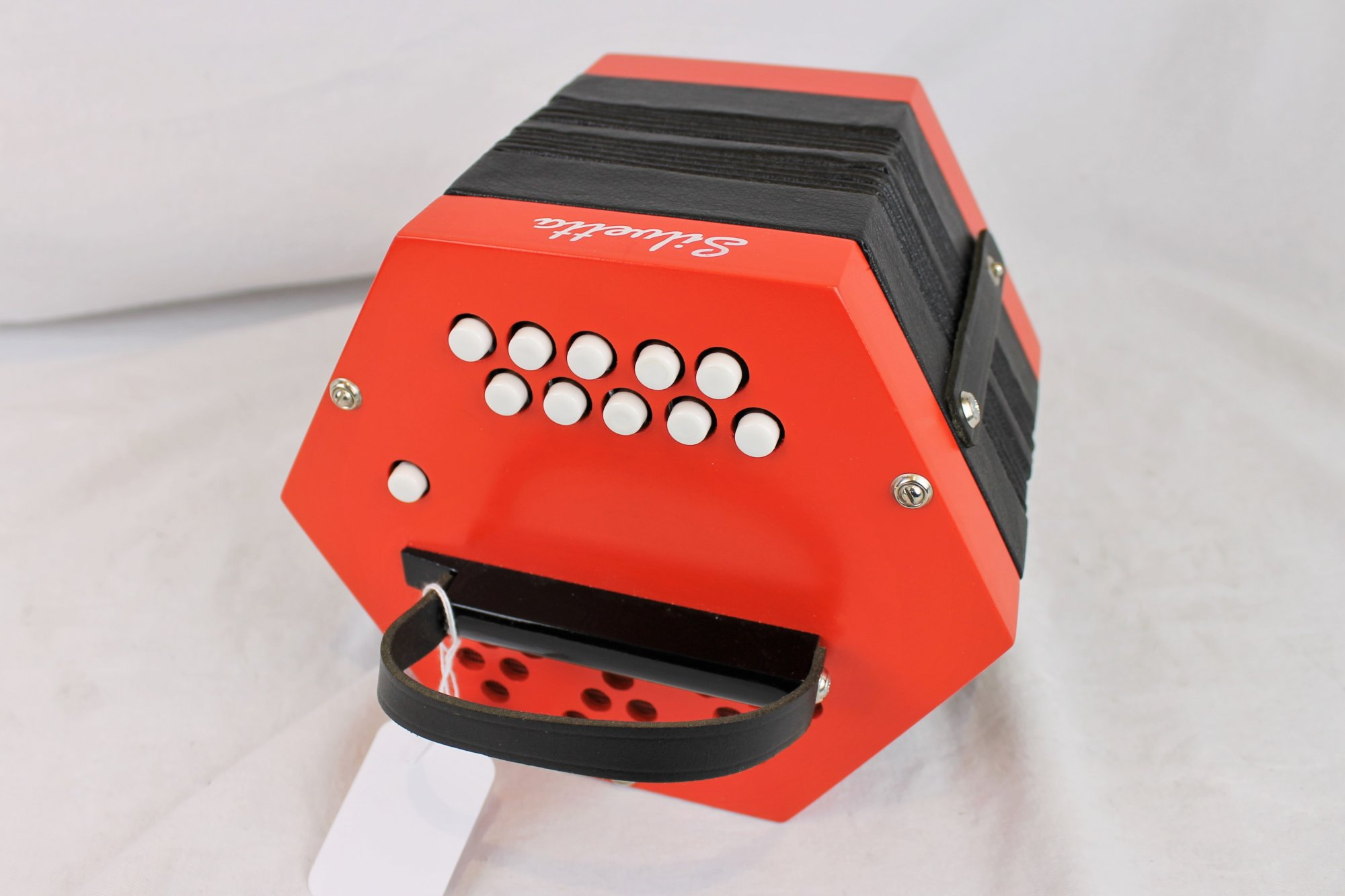 NEW Red Hot Silvetta Anglo Concertina CG M 20