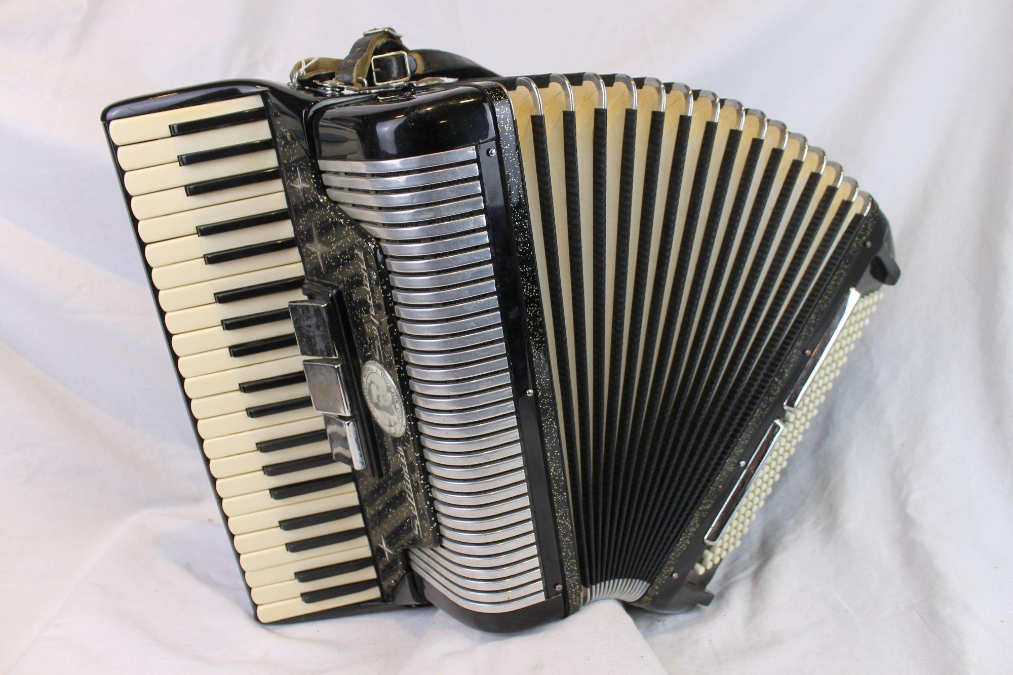 6102 - Black Sparkle Settimio Soprani Dick Contino Piano Accordion LM 41 120