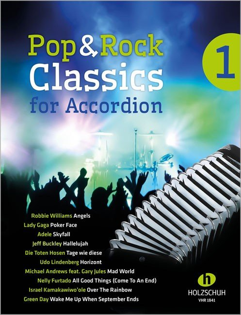 Pop & Rock Classics for Accordion 1 Waldemar Lang