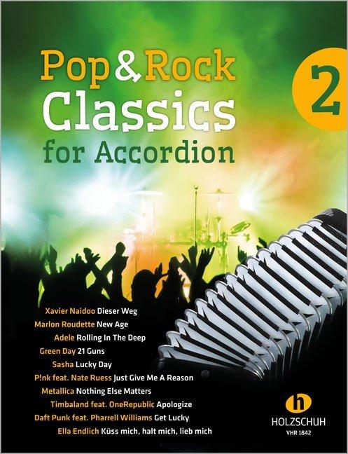 Pop & Rock Classics for Accordion 2 Waldemar Lang