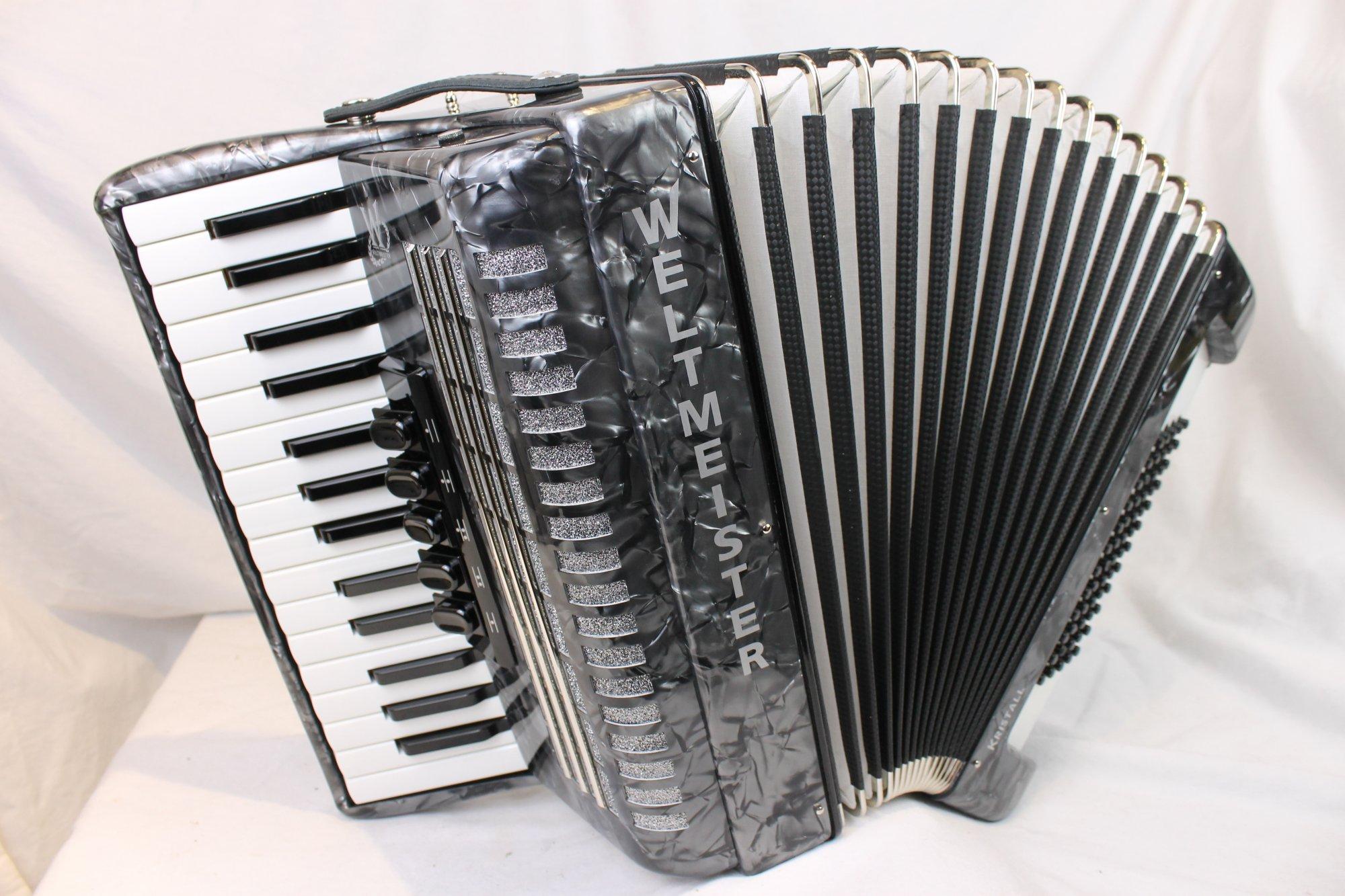 NEW Slate Weltmeister Kristall Piano Accordion LMM 30 60