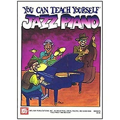 You Can Teach Yourself Jazz Piano (Book + Online Audio) - 796279046602