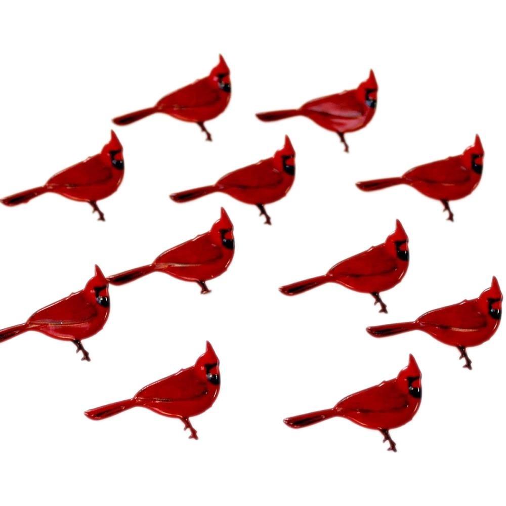 Eyelet Outlet Shape Brads 12/Pkg Cardinal