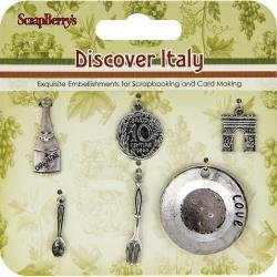 Discover Italy Wine/Plate Charm