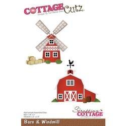 Cottage Cutz Barn & Windmill