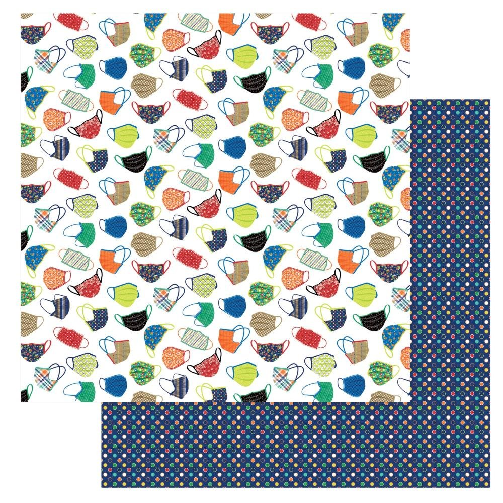 CLICK HERE FOR MORE DESIGNS The New Normal Double-Sided Cardstock 12X12