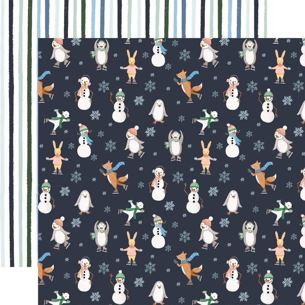 Carta Bella Winter Market Double-Sided Cardstock 12X12 Stay Cozy